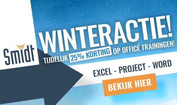 Smidt Kennisprovider - Winteractie!