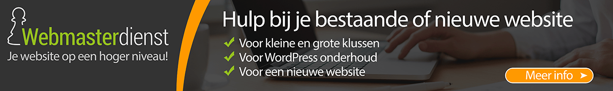 Webmasterdienst.nl