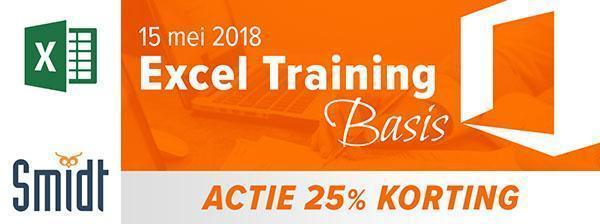 Smidt Excel Training Basis