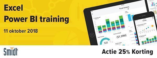 Smidt Excel Power BI Training