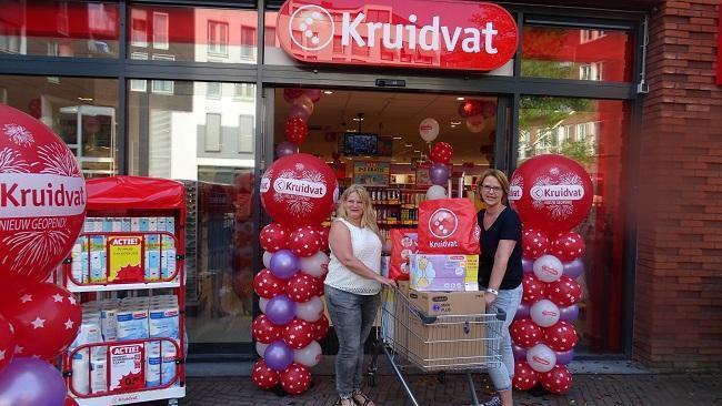 Led Lampen Kruidvat : Stichting babyspullen winkelt één minuut gratis bij kruidvat assen
