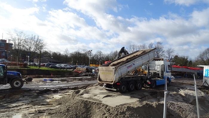 Verrassend Ruim 2000 kuub zand uit Kampen in tunnel De Maten (Video IF-73