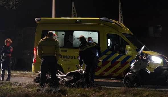MP3 motor in beslag genomen na ongeval in Assen (video)